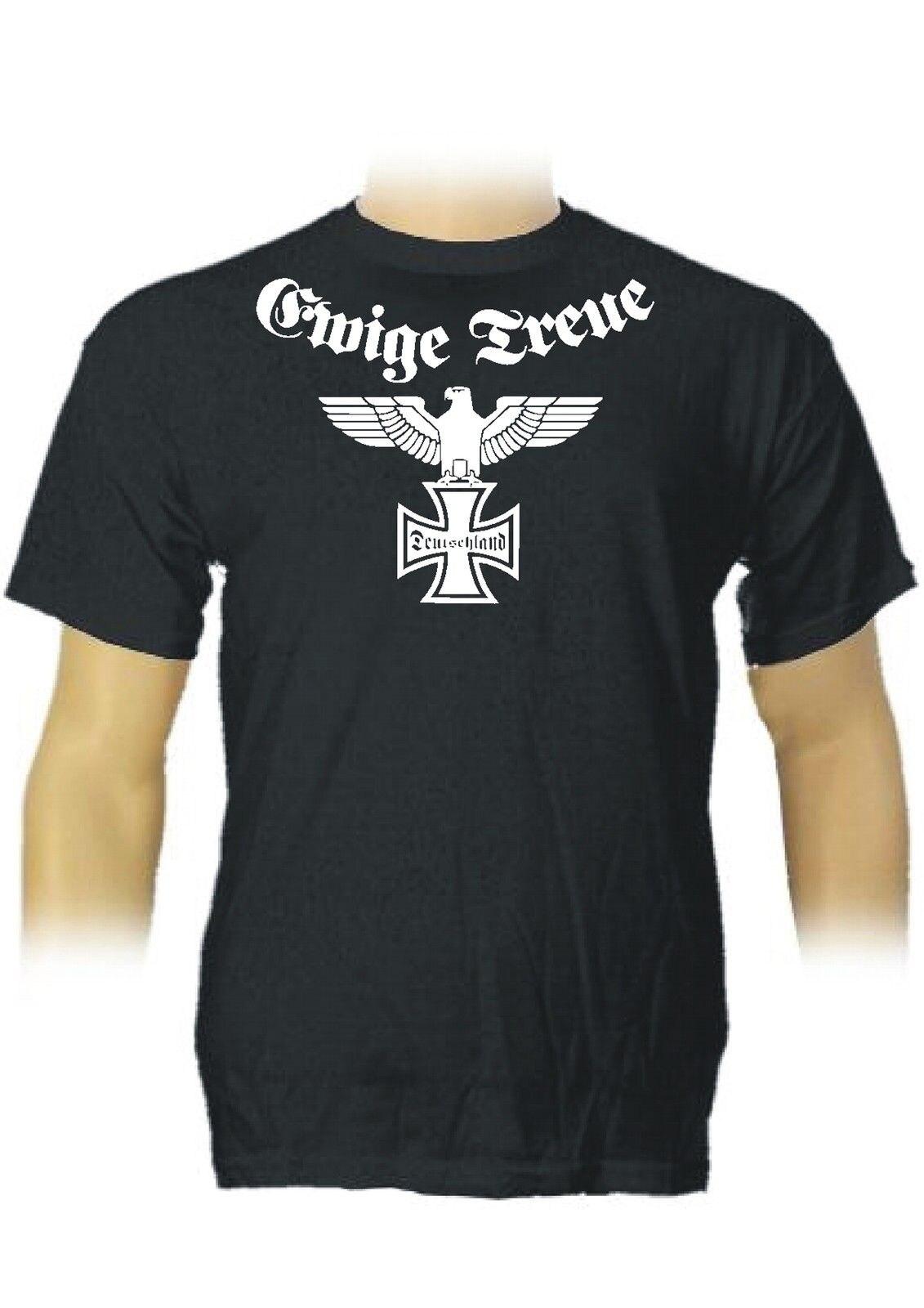 2018 Summer Fashion Men T Shirt Germany Reich Eagle Ultra Hooligans German Empire