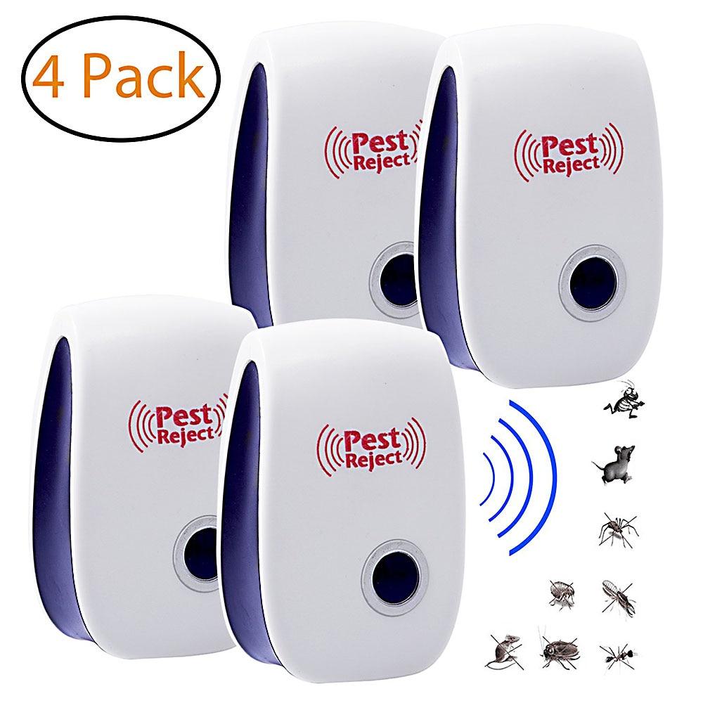 4 piezas de Mosquito asesino lámpara usada para Repelente espantapájaros ratón insecto...