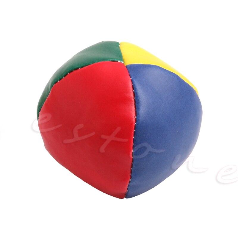 1 Pza juego de bolas de malabares clásico bolsa de frijoles malabares Magic Circus niños juguete regalo nuevo