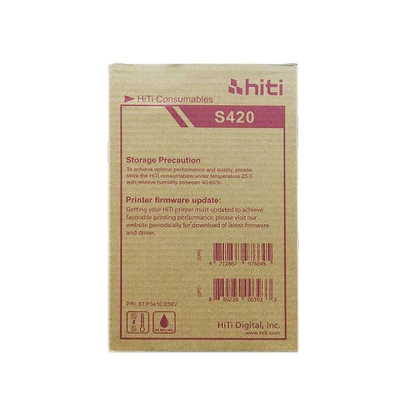 50 unids/bolsa de papel fotográfico para impresora HITI S420