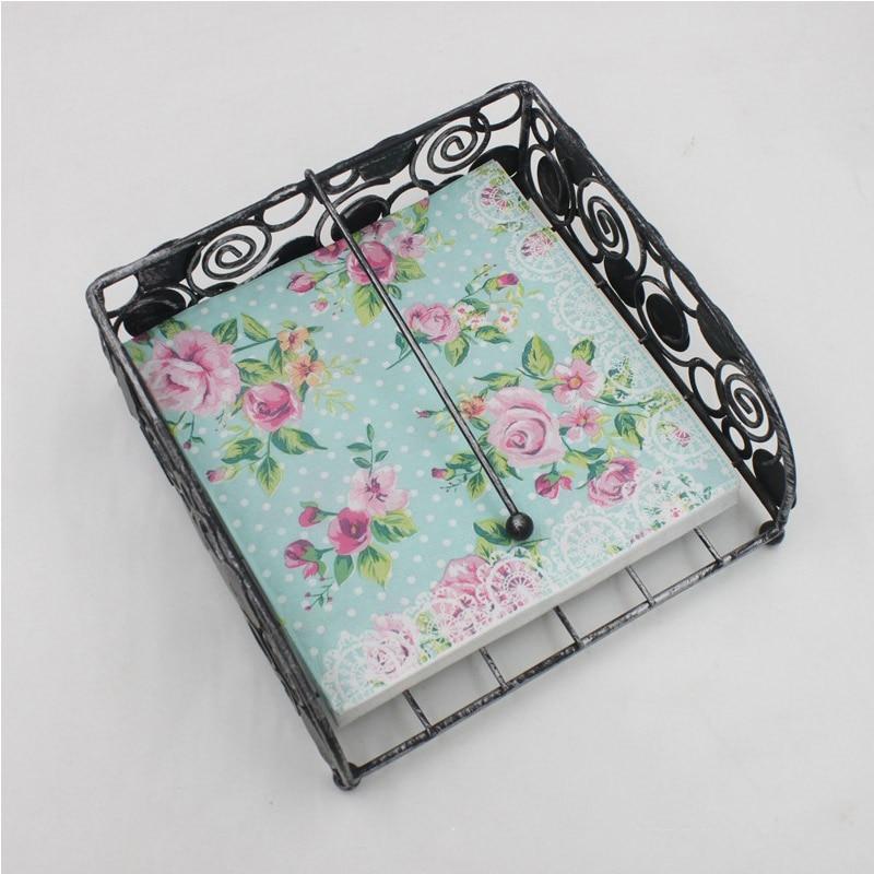Guardanapos de papel de tecido de festa 2 camadas decoupage serviettes rosa flor diy impresso guardanapo de papel