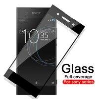 Custodia protettiva in vetro per Sony Xperia XA1 XA2 XA3 Plus vetro temperato Ultra XZ4 per sony XZ Premium XZ1 Compact soni Cover Film