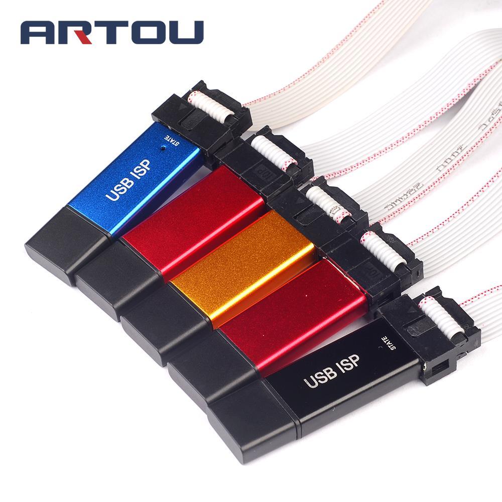 USBASP USBISP ISP Programmierer Downloader für Arduino 51 ATMEL AVR Unterstützung 64 Bit Win7 & 32Bit Win98 WinMe Win2000 WinXP win Vista