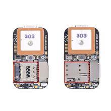 Super Mini Size GPS Tracker GSM AGPS Wifi LBS Locator Free Web APP Tracking Voice Recorder ZX303 PCBA Inside