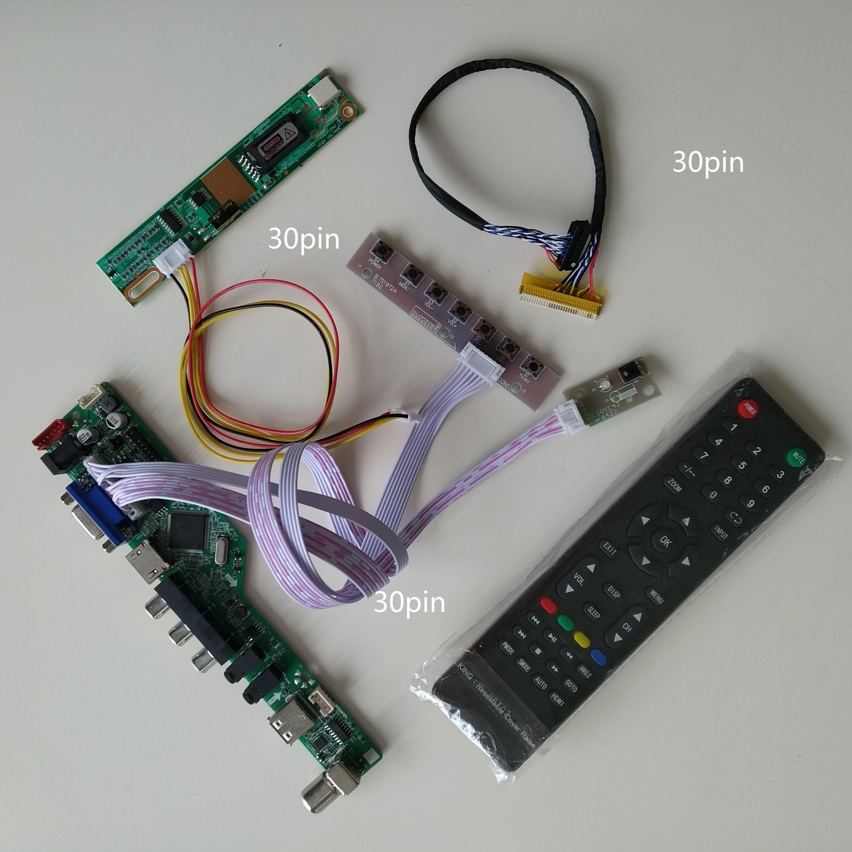LCD TV HDMI-compatible AV AUDIO USB VGA 1 CCFL lamps Controller Board For LP171WP4(TL)(N2) /LP171W01(A4) 1440X900 card display недорого