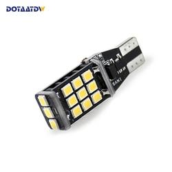 1x DOTAATDW T15 W16W Lâmpadas LED CANBUS Erro Gratuito 921 915 WY16W LED Backup Reversa Turn Signal Lâmpada de Luz Branca
