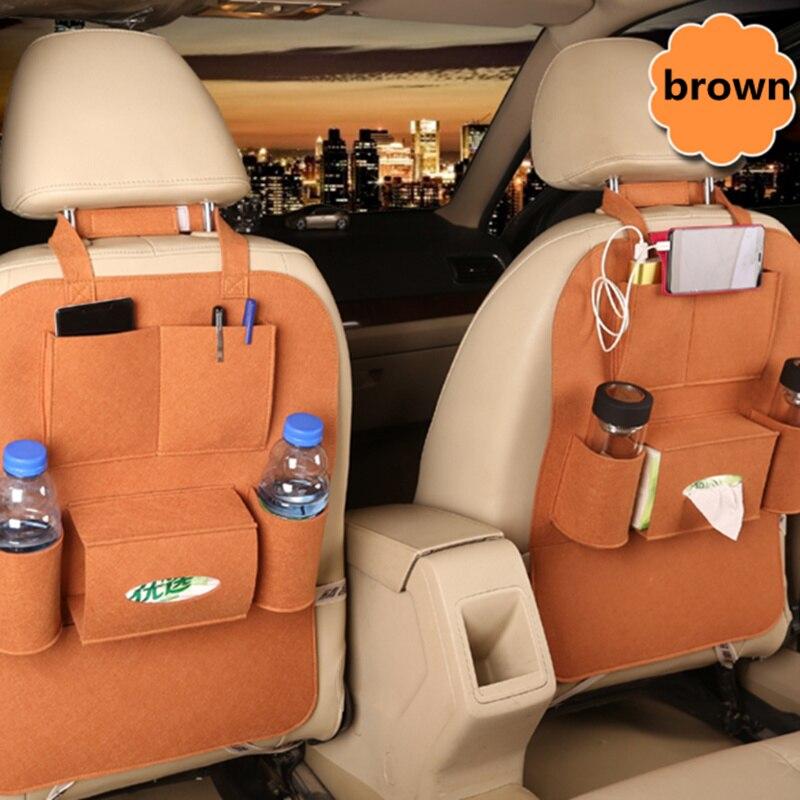 Bolsa Universal de seguridad para asiento de 1 Uds. Para Fiat Panda Bravo Punto Linea Croma 500 595
