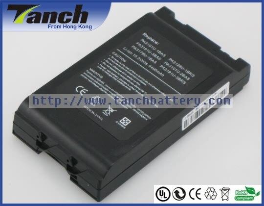 Laptop batteries for TOSHIBA Satellite Pro 6000 Portege M200 M205 Pro 6100 PA3191U-2BRS PA3191U-4BRS 10.8V 6 cell