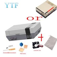 1set Hohe Qualität Mini NES NESPI FALL Retroflag Fall Mit Lüfter Entwickelt Für Raspberry Pi 4/3 / 2 / B +
