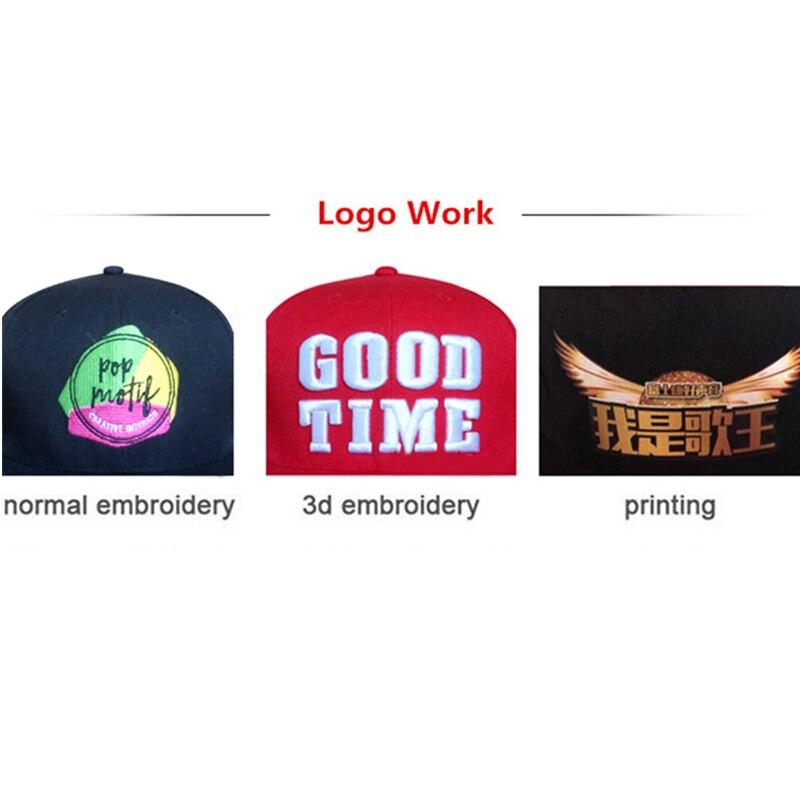 Logo Custom Low MOQ Embroidery Hats Baseball back snap strap Cap Custom Acrylic Cap Adjustable Hip Hop Fitted Full closure Hat