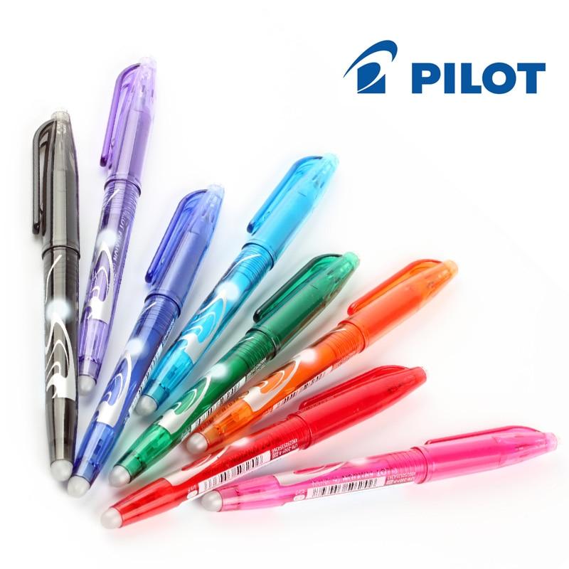 Bolígrafo de Gel FriXion para oficina, 1 juego de 8 colores, bolígrafo de Gel borrable mágico de 0,5mm, bolígrafo resucitar LFB160EF8CN