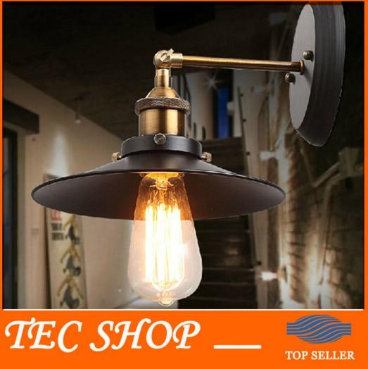 ZYYBest цена JH американский кантри стиль ретро настенный светильник Промышленный Склад прохода винтажный настенный светильник Железный балко...