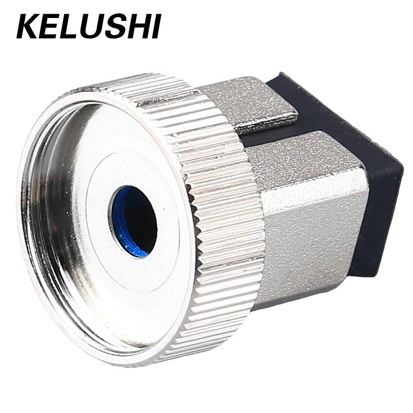 Adaptador de fuente envío gratis cabezal de conversión cabezal de intercambio interfaz de fibra óptica medidor de potencia óptico precio al por mayor KELUSHI