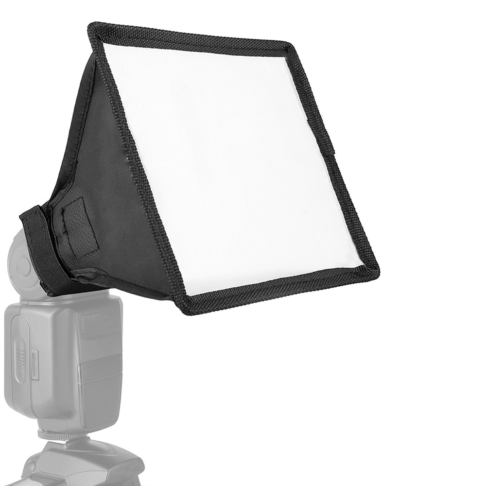 Универсальный рассеиватель света софтбокс складной Speedlite полупрозрачная мягкая коробка с сумкой для переноски для DSLR камеры Speedlight