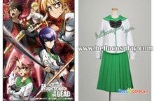 Highschool of the Dead Cosplay Saeko Busujima Uniform Premade H008