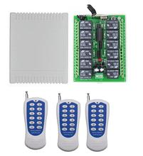 433 mhz/315 mhz DC 12 V 12 CH 12CH Radyo Kontrol RF kablosuz uzaktan kumanda Anahtarı Sistemi, verici alıcı Garaj Kapısı