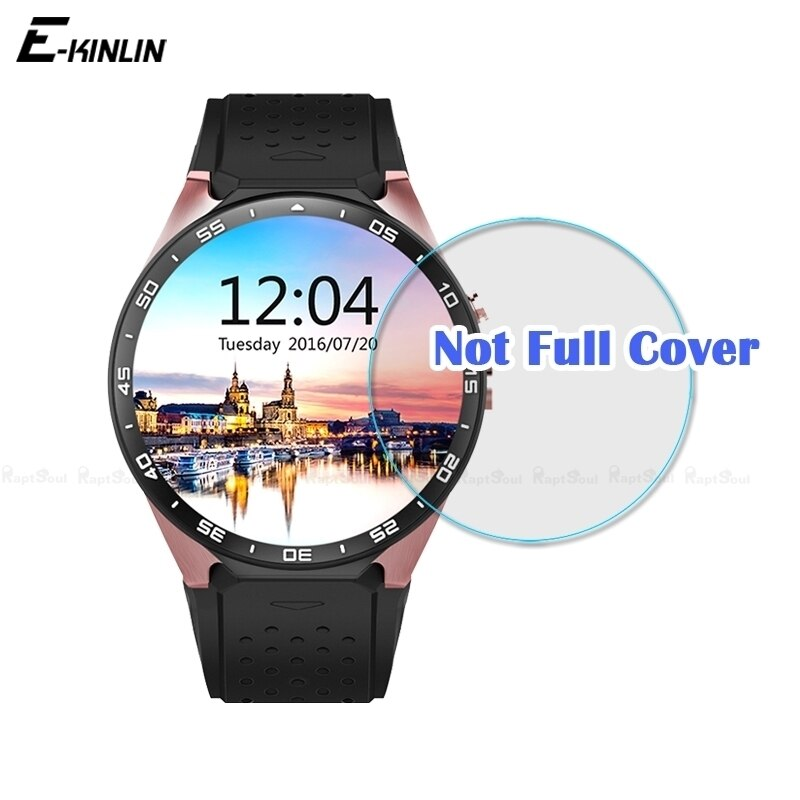 9H 2.5D Claro Temperado Película Protetora Para LEMFO KW88 LEM5 Relógio Inteligente Protetor de Tela de Vidro Temperado
