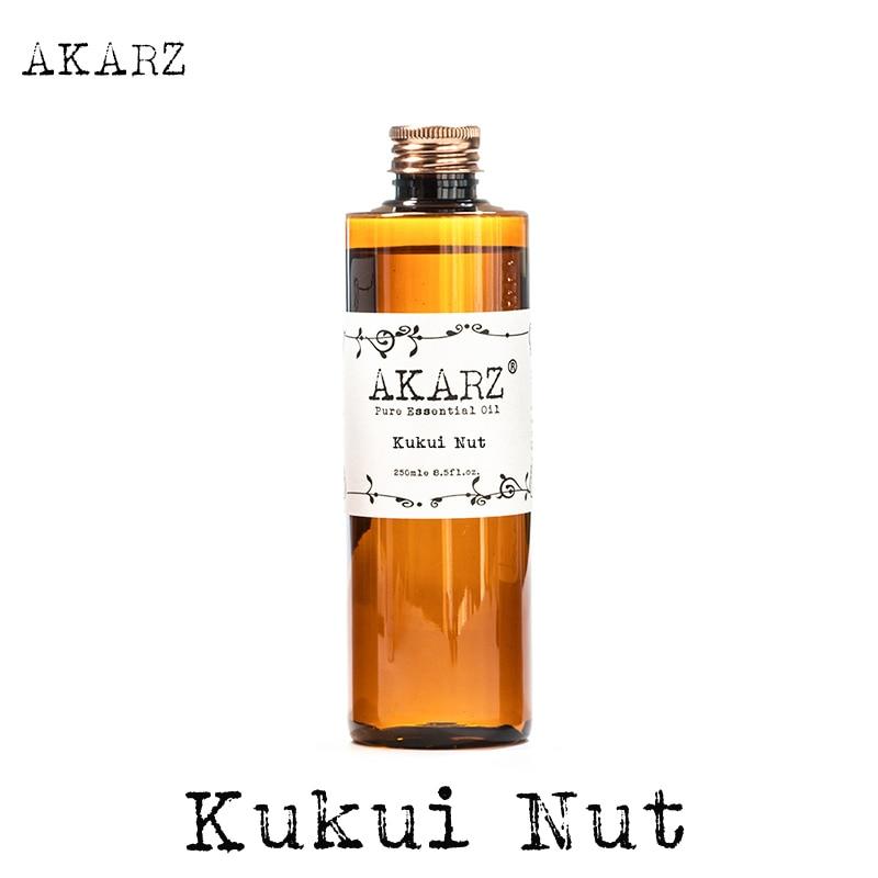 Aceite de nuez Aromaterapia natural de la famosa marca AKARZ kukui Aromaterapia natural spa de masaje de Cuidado de la piel de alta capacidad