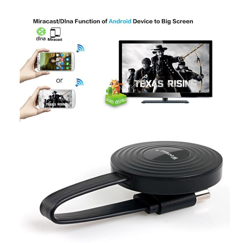 E9 Wireless Display Mirroring Device WiFi HDMI-compatible TV Dongle DLNA For Miracast Mirror Screen