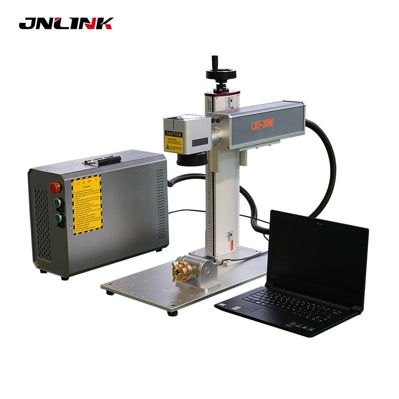 Preço barato marcador a laser rotativo opcional 10w 20 30 50 mini máquina de marcação a laser de fibra de metal portátil