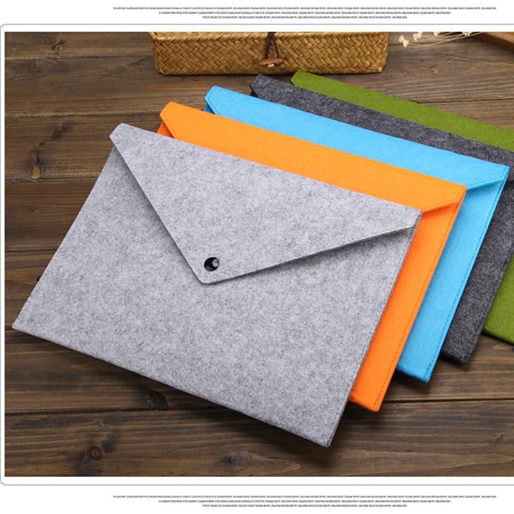 Папка для документов A4, портфель большой вместимости для документов, папки для файлов из химического войлока, 5 цветов на выбор