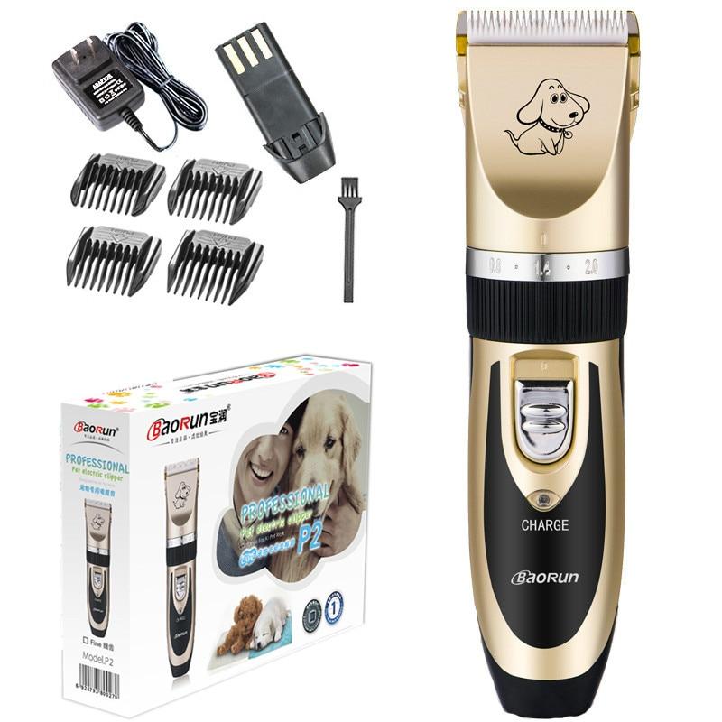 Aparadores de Cabelo Cortador de Cabelo Profissional Gato Barbear Clippers Grooming Ferramenta Cão Pet