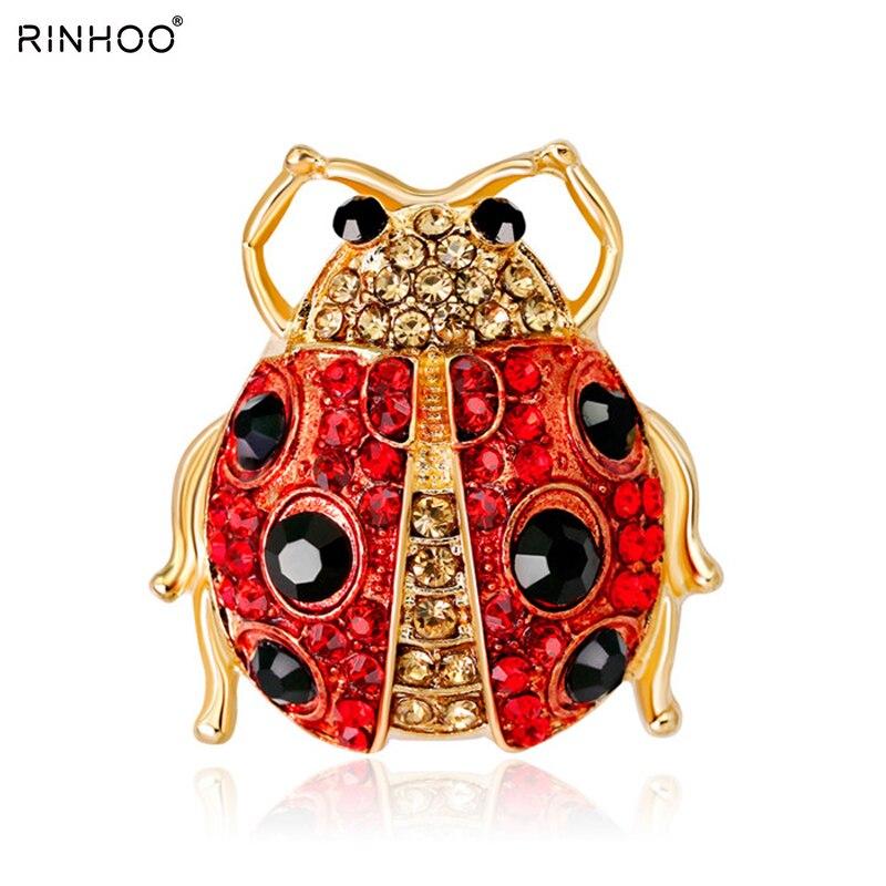 Bijou broche bijouterie animal broches jóias presentes rinhoo esmalte inseto bonito broche decorativo pinos para mulher