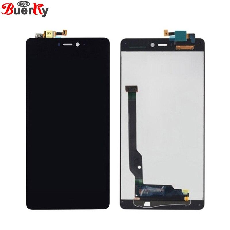 "BKparts probado 5,0 ""para Xiaomi Mi 4c Mi4c M4c LCD pantalla táctil pantalla LCD digitalizador de vidrio reemplazo de montaje completo"