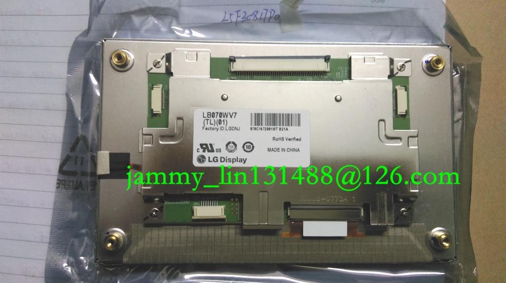 "LB070WV7(TL)(01) LB070WV7-TL01 LB070WV7 TL01 Original 7"" inch 800*480 LED LCD Screen Display for Kia Car Navigation AV System"