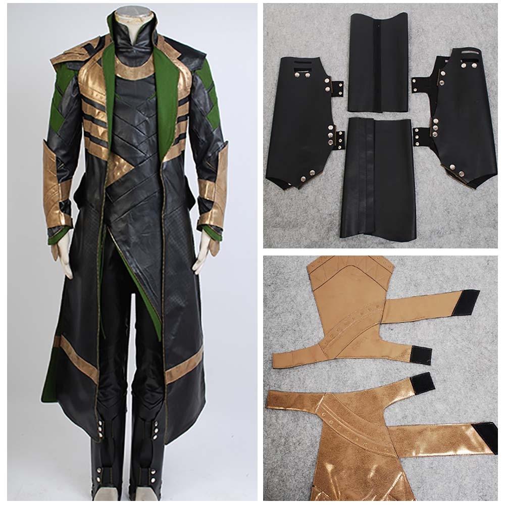 Thor 3 traje o mundo escuro loki traje cosplay batalha uniforme traje terno