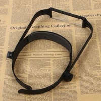 new 1 6x 2 0x 2 5x 3 5x head headband replaceable lens loupe magnifier magnify glass lens loupe made of optical glass
