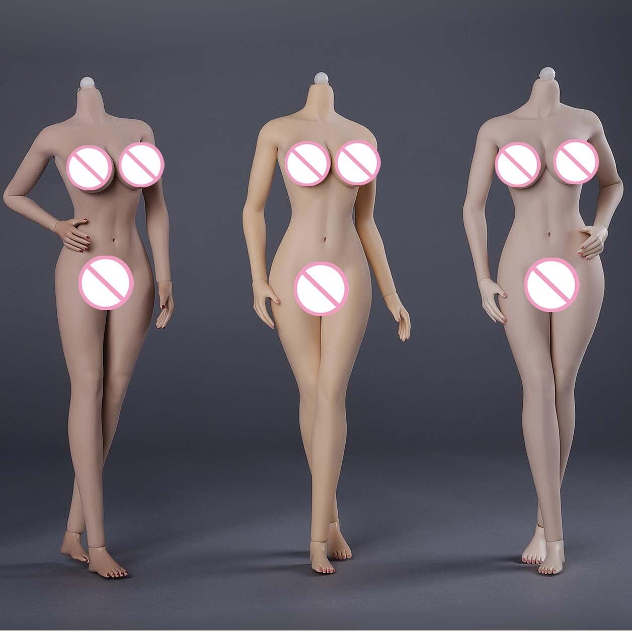 JIAOU PUPPE 3,0 1/6 Scale Figure Super Flexible Europäischen Form (Große büste) weibliche Nahtlose Körper POM Skeleton JIAOUDOLL Körper