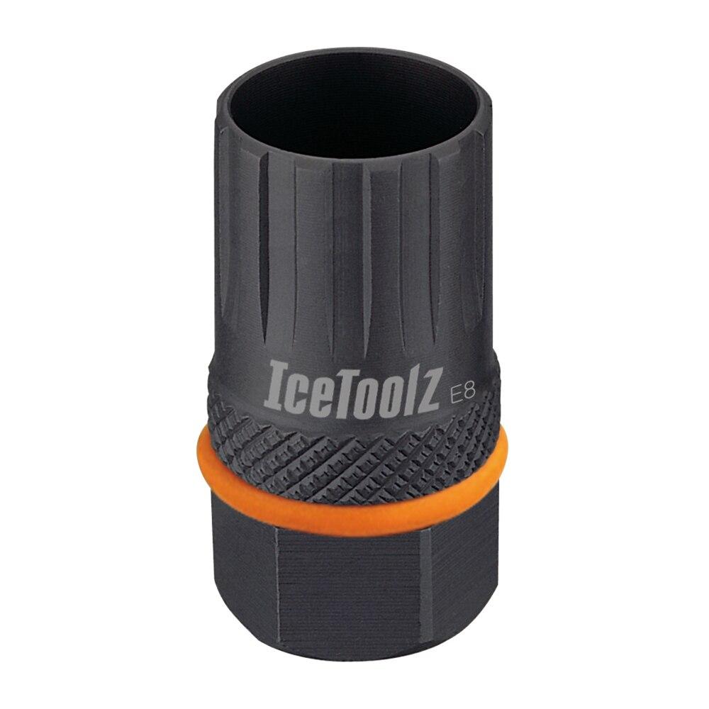 Herramienta de rueda libre de bicicleta IceToolz para Cassette Shimano & Campagnolo, herramientas de reparación BB de bicicleta de 12 dientes, herramienta de extracción de Cassette 09B3
