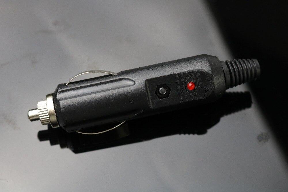 Nuevo y de alta calidad 1 Uds. 12V enchufe de encendedor de coche conector de clavija Salida de conversión con fusible