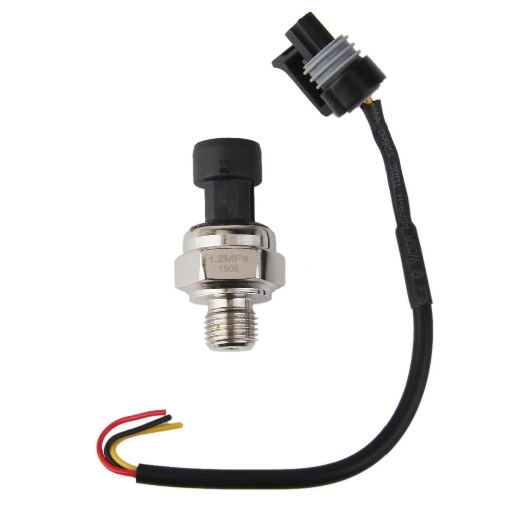Sensor transductor de presión G1/4 0-1,2 MPa para combustible de aceite gasóleo agua aire transductor Dropshipping