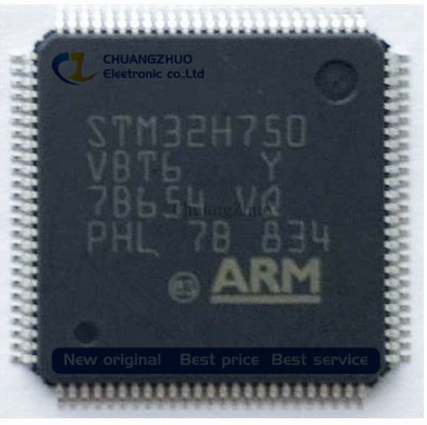 Nuevo original STM32H750VBT6 TR IC MCU 32BIT 128KB FLASH 100LQFP