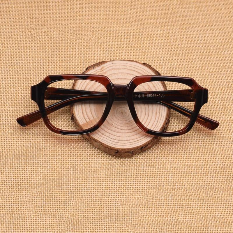 Tamanhos 46/48/50/52/54/58 retro decoração míope miopia óculos quadro presbiopia vazio óculos quadro sem lentes