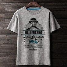 WBDDT Breaking Bad Heisenberg Walter blanc T-shirt hommes chemises impression 3D coton unisexe Top transfert t-shirts costume Homme livraison directe