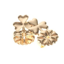 BeUrSelf plus récent mode papillon boucle doreille Lifter dos soutien trèfle hypoallergénique sadapte aux boucles doreilles pour les femmes oreille bijoux