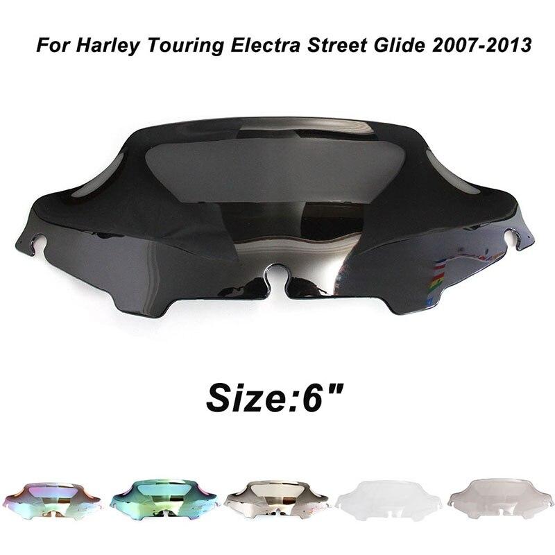 "Parabrisas de 6 ""para 96-13 Electra Street GLIDE, deflectores de viento clásicos de triciclo para motocicleta, parte 1996 1997 1998-2013"