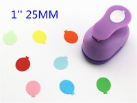 free ship ballon punches for eva paper punch craft perfurador cutter scrapbooking paper punch for kids furador diy puncher R338