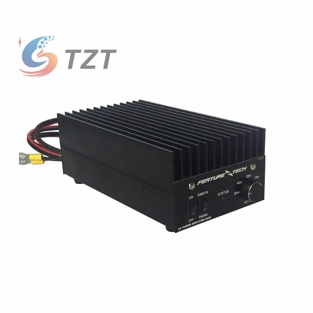 TZT 40W 1,5 MHz-30MHz коротковолновый широкополосный линейный усилитель мощности Ham радио усилитель мощности HF усилитель мощности для FT817 IC703 HAM Радио QRP