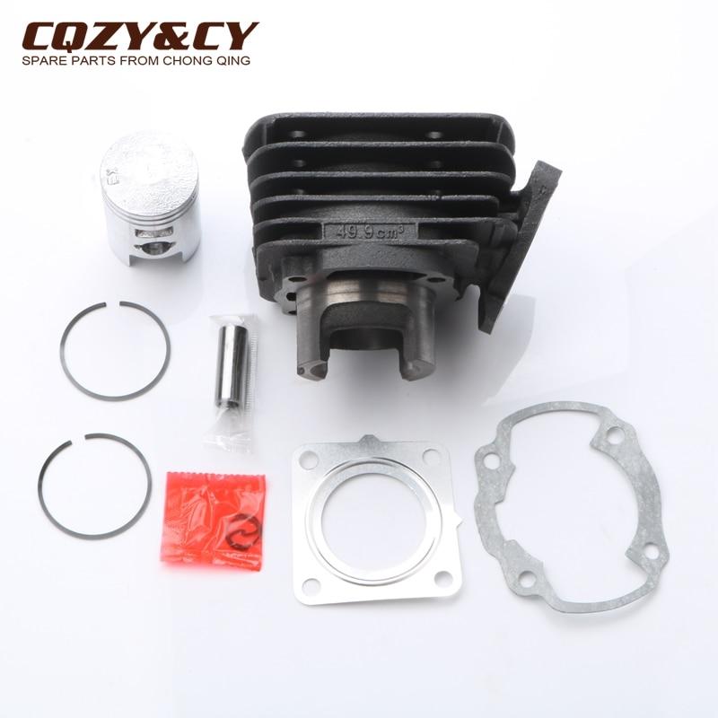 Kit de cilindro de 50cc, kit de pistón y junta de cilindro para HONDA SH 50 AF40 Scoopy 91-95 SXR 50 MM AF37 100080080 39mm/12mm