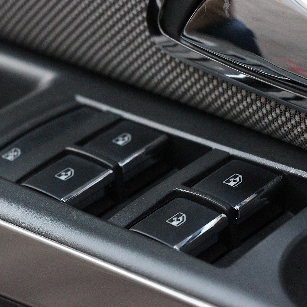 Adesivo Para Chevrolet Cruze Malibu Aveo Trax Para Buick Encore Regal lacrossse Janela Do Carro Elevador botão Lantejoulas Etiqueta Decocation