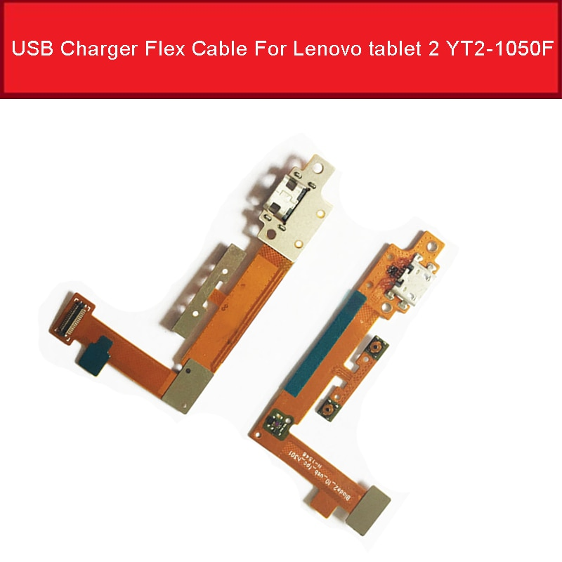 USB Charger Plug Dock Flex Cable For Lenovo Yoga tablet 2 YT2-1050F 1051F USB Charging Port Flex Ribbon Blade2_10_usb_fpc_h301