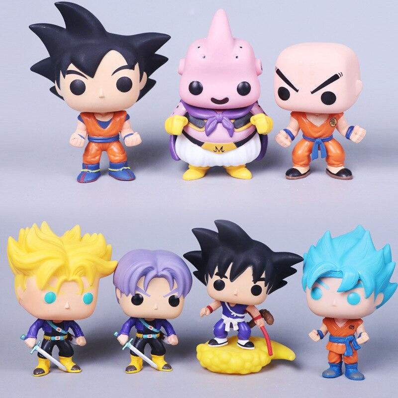 2020 Anime nuevo figura de Dragon Ball Z muerto Yamcha hercule Buu diferentes goku seleccionable figura PVC juguetes de modelos coleccionables