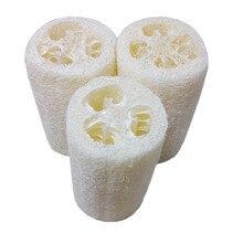 Neue Haushalts Waren Natürliche Luffa Bad Körper Dusche Schwamm Wäscher Pad Heißer verkauf
