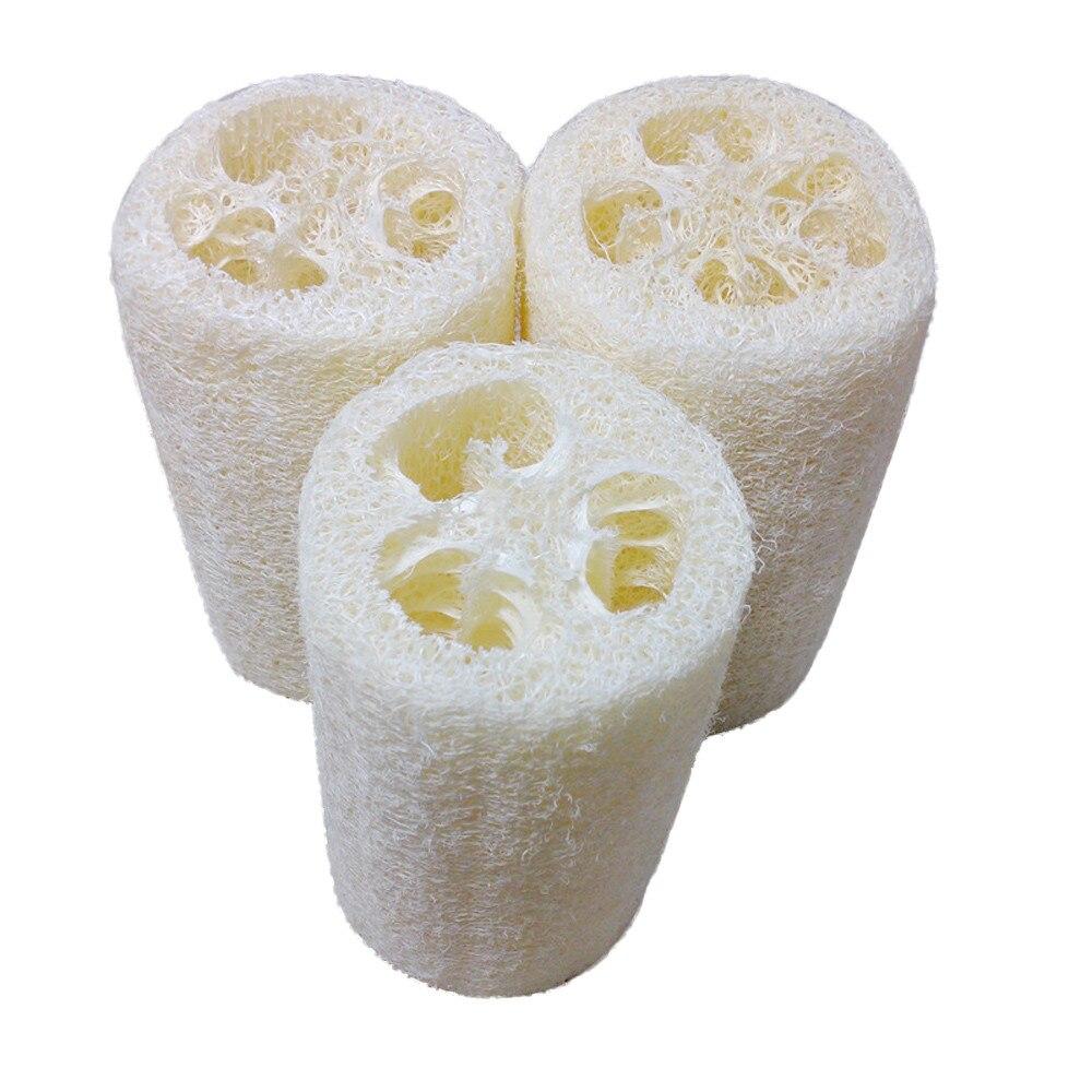 Nuovo Articoli Utilità E per La Vita Domestica Luffa Naturale da Bagno Doccia Corpo Spugna Scrubber Pad Vendita Calda