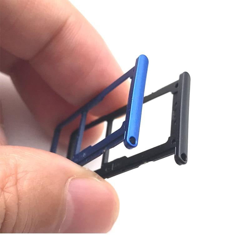 Bandeja de tarjeta Sim para Huawei P20 Lite P20lite soporte para lector de tarjetas Sim