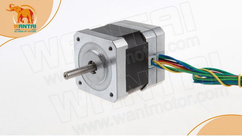Wantai Nema17 бесщеточный электродвигатель постоянного тока 42BLF01 24v 26w 4000Micro CNC CE ISO ROHS фрезерный лазерный плазменный станок